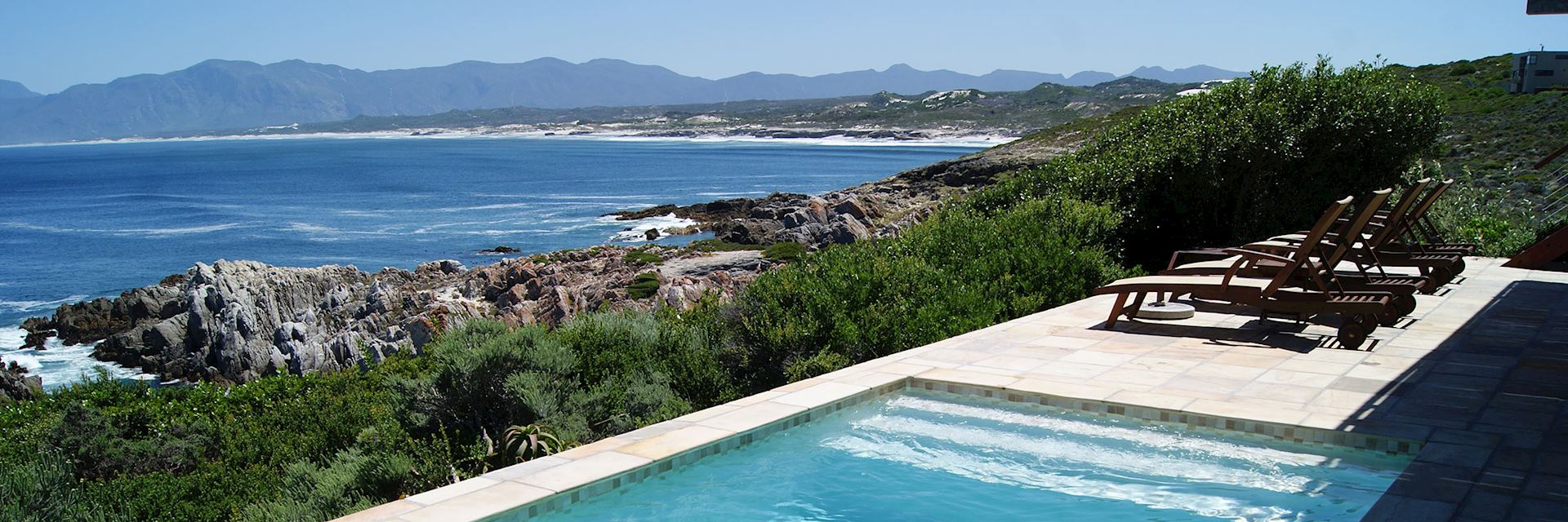 Hermanus Whale Watching - View from Cliff Lodge De Kelders